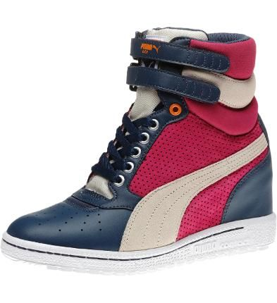 Puma Sky Wedge Sneakers