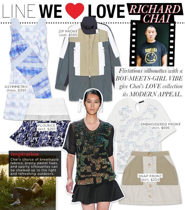 Richard Chai LOVE S/S 13