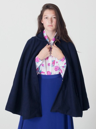 American Apparel The Wool Cape