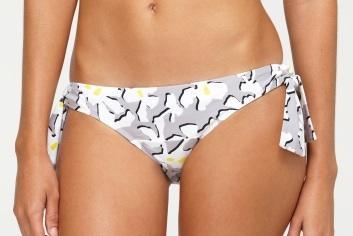 DVFlovesROXY Paneled Side Bikini Bottoms