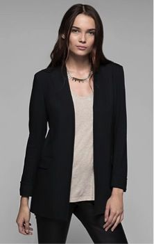 Theory Theory Tivona Stretch Viscose Jacket