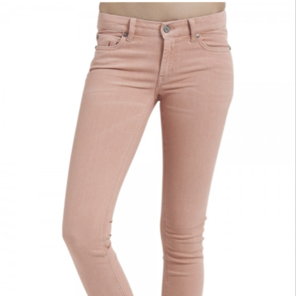 MiH Jeans The Breathless Low Rise Skinny Leg Jeans