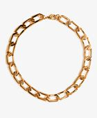 Forever 21  Angular Chain Link Necklace