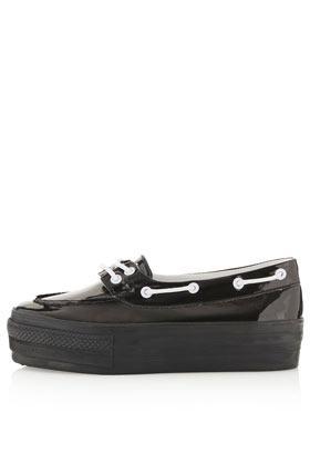 Topshop Tamia Flatform Boat Shoes