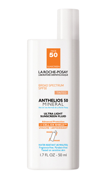 La Roche-Posay Anthelios 50 Mineral Tinted Ultra Light Sunscreen Fluid