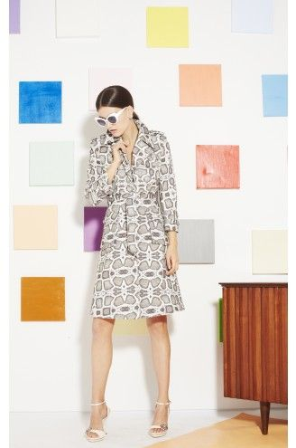 Alice and Olivia Klein Trench