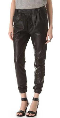 J Brand Blair Leather Pants