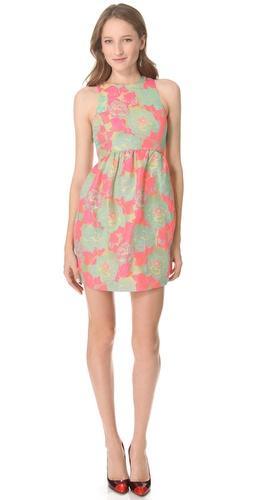 SUNO High Neck Dress
