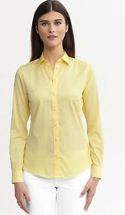 Banana Republic  Banana Republic Non-iron Fitted Sateen Shirt