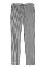 Tibi  Tibi Striped Denim Pants