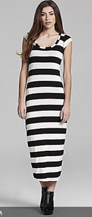 ING Bold Striped Maxi Dress
