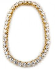 Fallon Fallon Classique Crystal Collar Necklace
