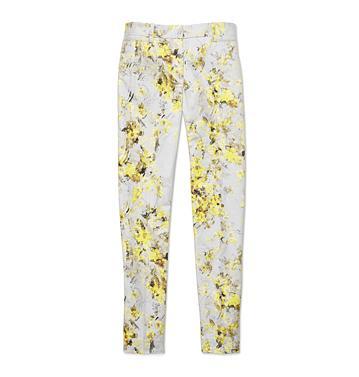 Joe Fresh Slim Print Pants