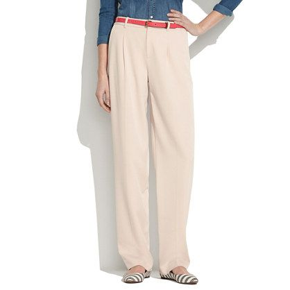 Madewell Pleated Trousers