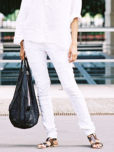The 12 Best White Denim Pieces To Buy This Summer