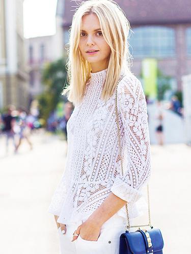 8 Modern Ways To Wear White Lace