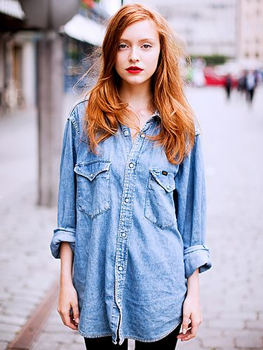 How To Wear A Denim Shirt This Summer