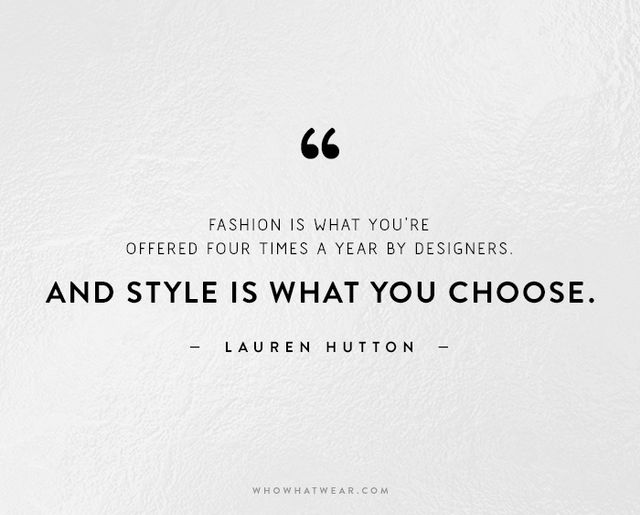Fashion Designer Quotes Style Best Funny Images