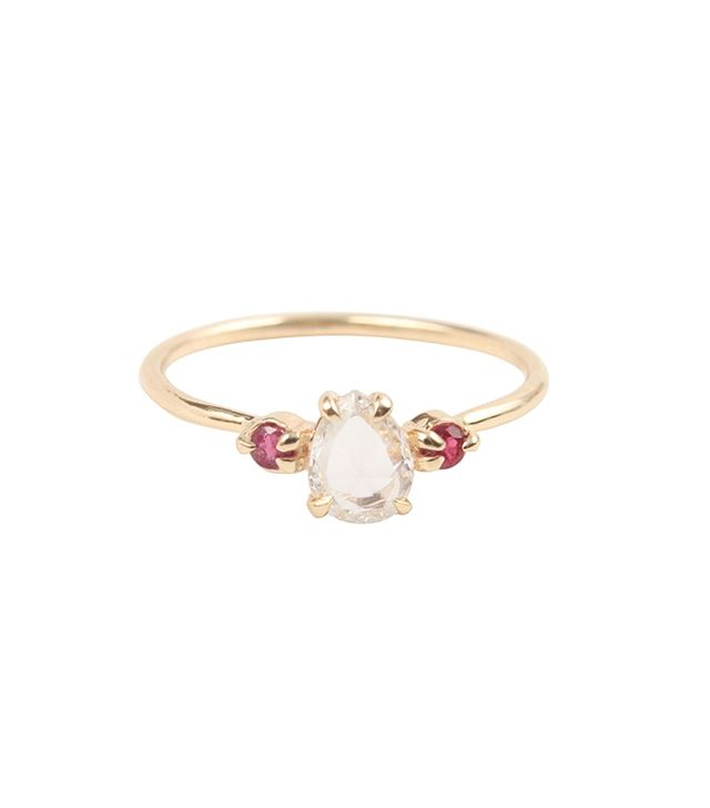 Catbird Jewellery Leda The Swan Ring