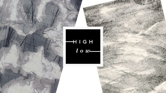 High Low: Painterly Rugs