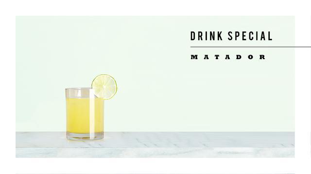 Drink Me: El Matador