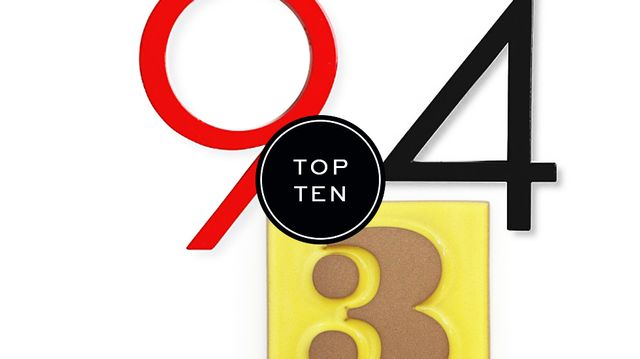 Top 10: House Numbers