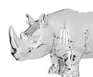 Decorative Rhino Figural