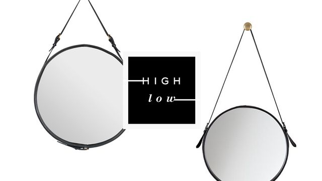 High Low: Buckle Mirror
