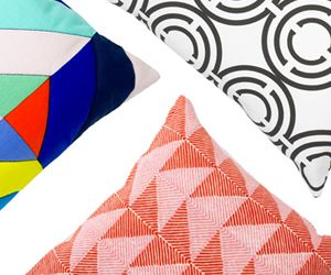 Top 10: Geometric Throw Pillows