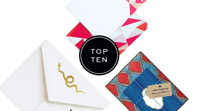 Top 10: Stationery