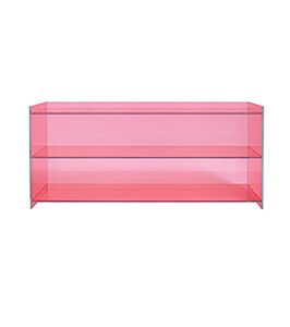 Clarity Low Bookcase