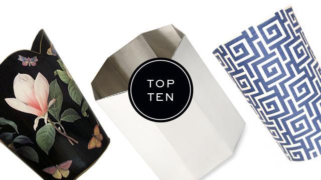Top 10: Wastebaskets
