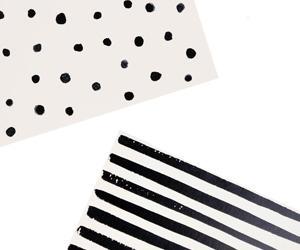 Dots & Stripes Notecard Set
