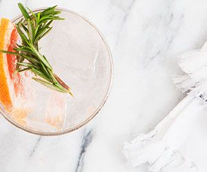 Drink Me: Grapefruit Rosemary Cocktail