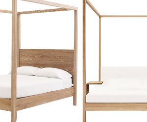 High Low: Four-Poster Beds
