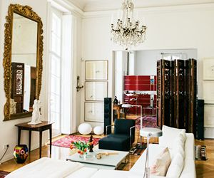 Antiques and Modernity Mingle