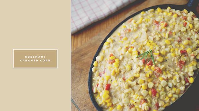 Recipe of the Week: Rosemary Creamed Corn