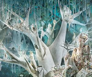 Holidays On Ice: Bergdorf Goodman's Chilling Window Displays