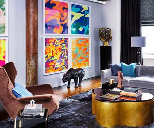 Tour a Dark, Sexy Manhattan Loft + The Coolest Easter Egg Designs