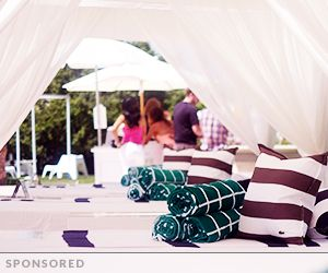 5 Fun Entertaining Ideas from Lacoste's Desert Pool Party