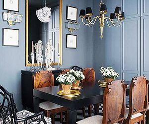 Inside an Apartment That's Black and White and Chic All Over