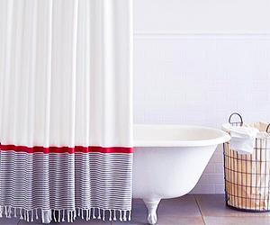 Bathroom Update 10 Chic Shower Curtains