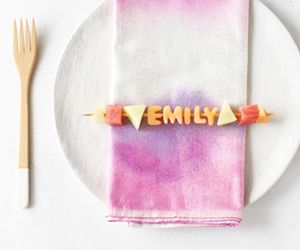 DIY a Healthy Place Card You Can Eat