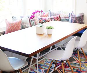 Before and After: A Family Home's Bold Boho Transformation