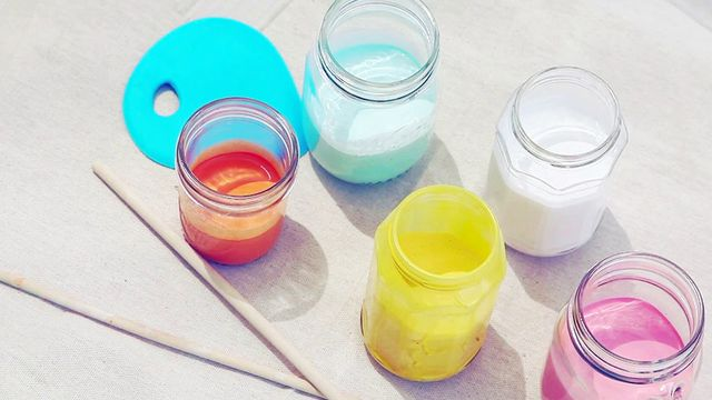 The Easiest Way to Do Paint Marbling