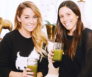 Behind the Scenes: Lauren Conrad's Etched Glassware