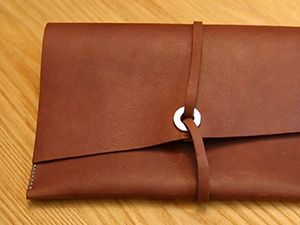 DIY Your Own Leather Travel Satchel