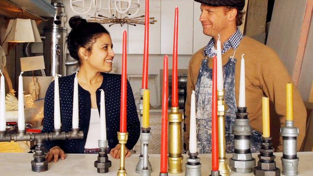 How to Make Plumbing Pipe Candlesticks
