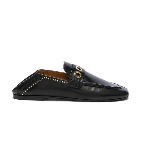 Leather Fosten Loafers