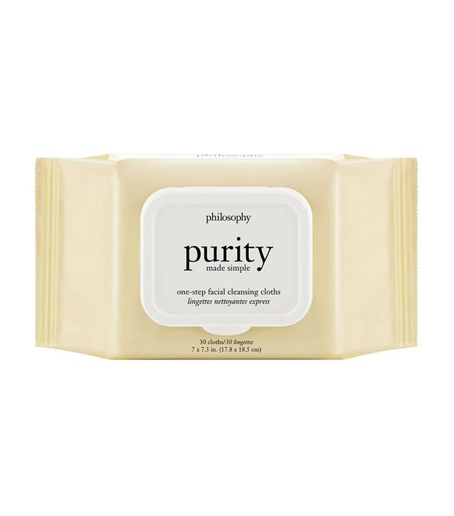 Purity Made Simple One-Step Facial Cleansing Cloths 30 Cloths